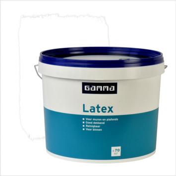 GAMMA latex wit mat 10 liter