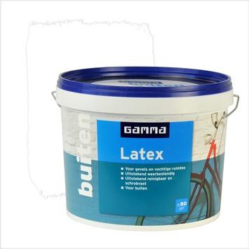 GAMMA latex buiten wit 10 liter