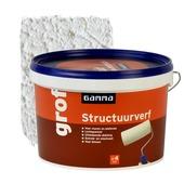 GAMMA structuurverf grof wit 2,5 liter
