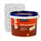 GAMMA structuurverf grof wit 5 liter