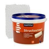 GAMMA structuurverf fijn wit 10 liter