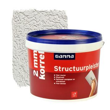GAMMA structuurpleister fijn 2mm wit 18 kg