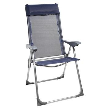 Standenstoel Blauw Textileen/Aluminium