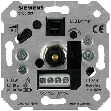 Siemens Delta inbouw dimmer led/gloei/halogeen