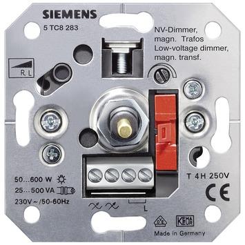 Siemens Delta inbouw dimmer halogeen spoelentrafo 25-500 watt
