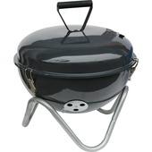 Tafel barbecue 39x19 cm grijs metaal