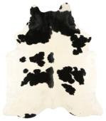 Koeienhuid Vloerkleed Zwart Wit 10 mm 180x200 cm