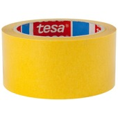 Tesa tapijttape extra sterk 50 mm 10 meter geel