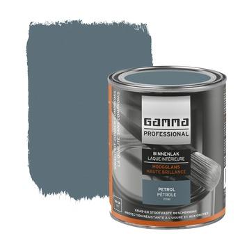GAMMA Professional binnenlak hoogglans petrol 750 ml