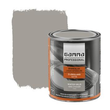 GAMMA Professional binnenlak zijdeglans winter grijs 750 ml