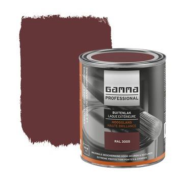GAMMA Professional buitenlak wijnrood hoogglans 750 ml