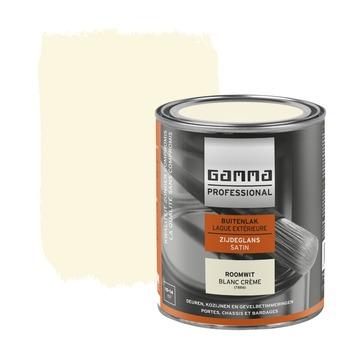 GAMMA Professional buitenlak roomwit zijdeglans 750 ml