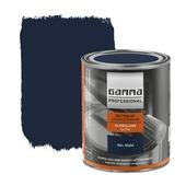 GAMMA Professional buitenlak zwartblauw halfglans 750 ml
