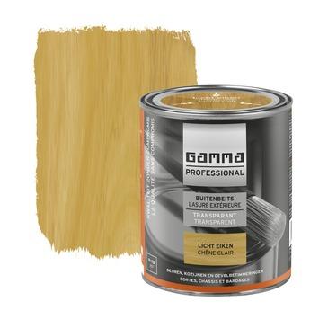 GAMMA Professional buitenbeits 750 ml 7202 licht eiken