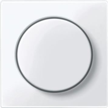 Merten System-M Pure centraalplaat dimmer actief wit