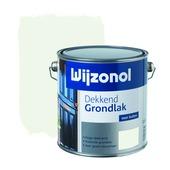 Wijzonol grondverf dekkend wit 2,5 liter