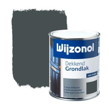 Wijzonol grondverf dekkend blauwgrijs 750 ml