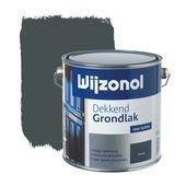 Wijzonol grondverf dekkend blauwgrijs 2,5 liter