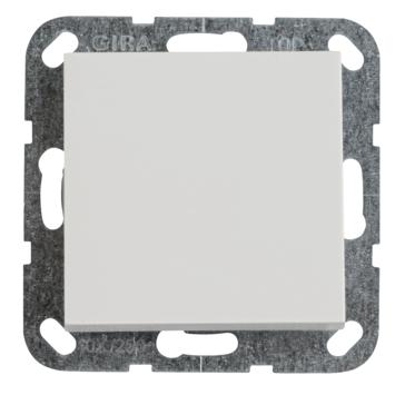 Gira ST55 inbouw wisselschakelaar wit