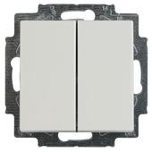 Busch-Jaeger Balance SI inbouw wissel-/wisselschakelaar wit