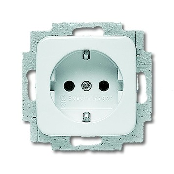 Busch-Jaeger Reflex SI Voordeelpack Inbouw Enkel Geaard Stopcontact 10 stuks Wit