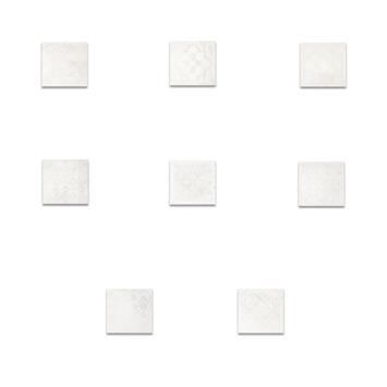 Vloertegel Dust Bianco Decor 30x30 cm