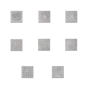 Vloertegel Dust Fumo Decor 30x30 cm