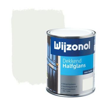 Wijzonol lak dekkend wit halfglans 750 ml