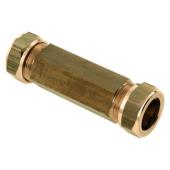 Bonfix knel reparatie koppeling messing 22 x 22 mm
