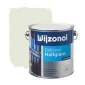 Wijzonol lak dekkend roomwit halfglans 2,5 liter