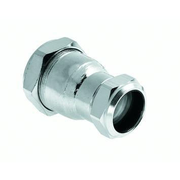 Bonfix knel verloopsok staal verzinkt 15x22 mm