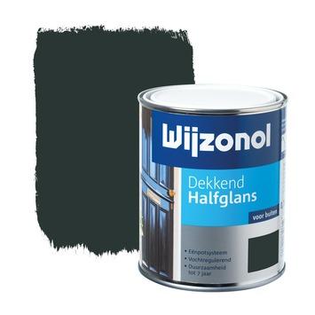 Wijzonol lak dekkend antiekgroen halfglans 750 ml