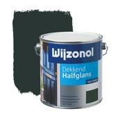 Wijzonol lak dekkend antiekgroen halfglans 2,5 liter