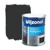 Wijzonol lak dekkend zwart halfglans 750 ml