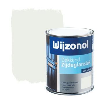 Wijzonol lak dekkend wit zijdeglans 750 ml