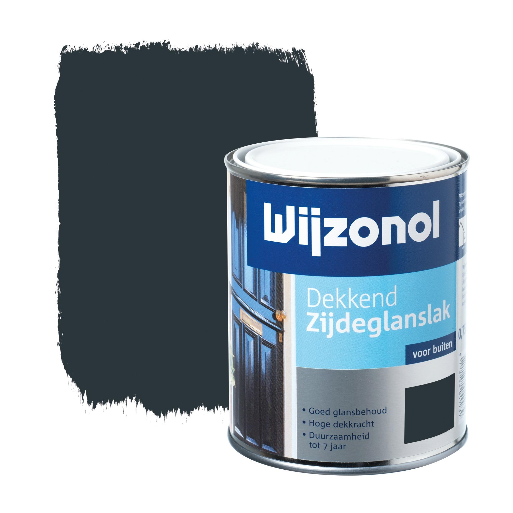 Wijzonol rm buitenverf zijdeglans dekkend alkyd koningsblauw 9226 750 ml