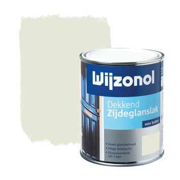 Wijzonol lak dekkend roomwit zijdeglans 750 ml