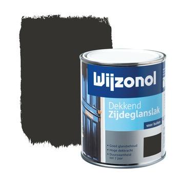 Wijzonol lak dekkend klassiekbruin zijdeglans 750 ml