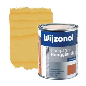 Wijzonol lak transparant kleurloos hoogglans 750 ml