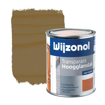Wijzonol lak transparant noten hoogglans 750 ml