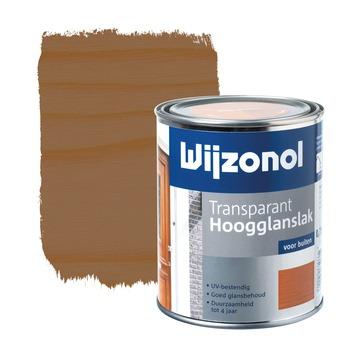 Wijzonol lak transparant mahonie hoogglans 750 ml