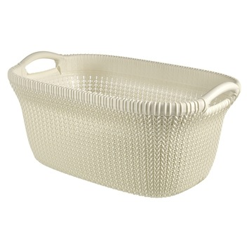 Curver Wasmand Knit Oasis White 40 Liter