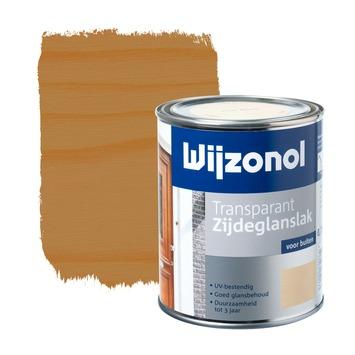 Wijzonol lak transparant grenen zijdeglans 750 ml