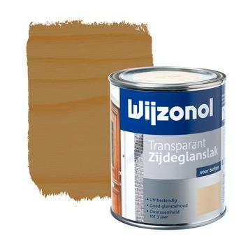 Wijzonol lak transparant eiken zijdeglans 750 ml