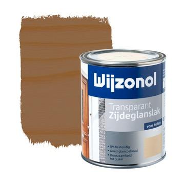 Wijzonol lak transparant mahonie zijdeglans 750 ml