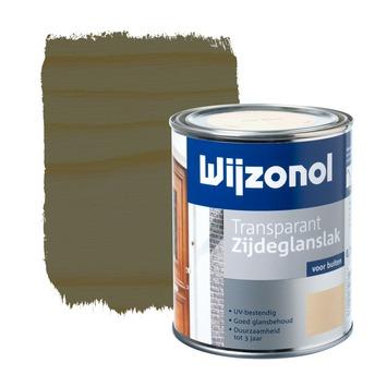 Wijzonol lak transparant ebben zijdeglans 750 ml