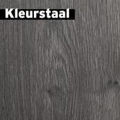 Kleurstaal GAMMA Confort laminaat zwart grijs eiken 7mm