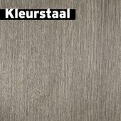 Kleurstaal GAMMA Mondain laminaat met V-groef bruin grijs eiken 7mm