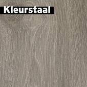 Kleurstaal GAMMA Mondain laminaat met V-groef grijs bruin eiken 7mm