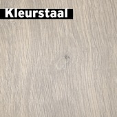 Kleurstaal GAMMA Elan laminaat met V-groef blank kalk eiken 8mm